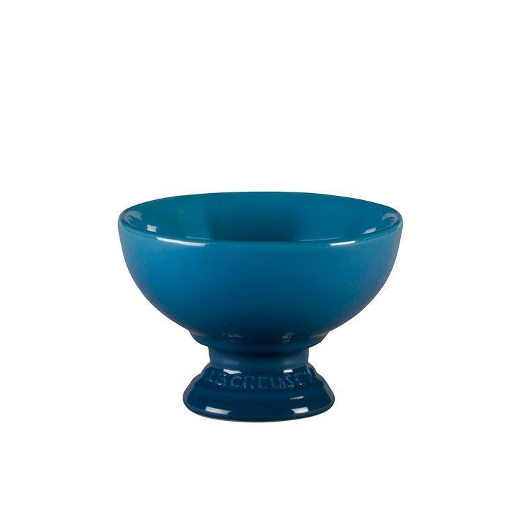 Le Creuset Stoneware Ice Cream Bowl Marseille Blue