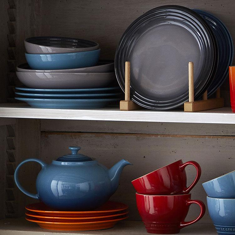 Le Creuset Stoneware Pasta Bowl 22cm Set of 4 Flint