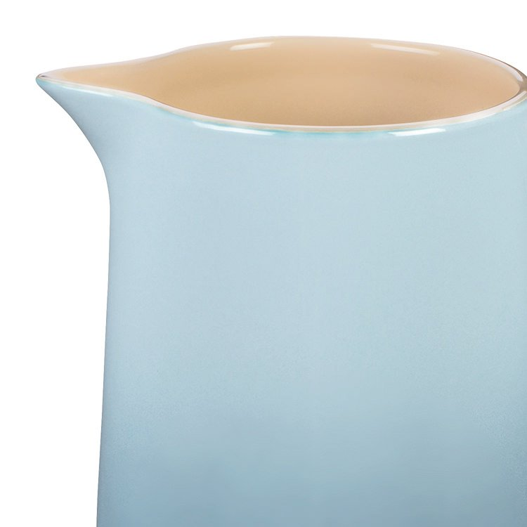Le Creuset Stoneware Pitcher 1.5L Coastal Blue