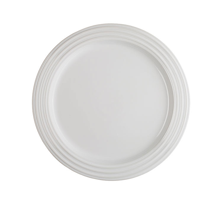 Le Creuset Stoneware Side Plate 22cm Set of 4 White