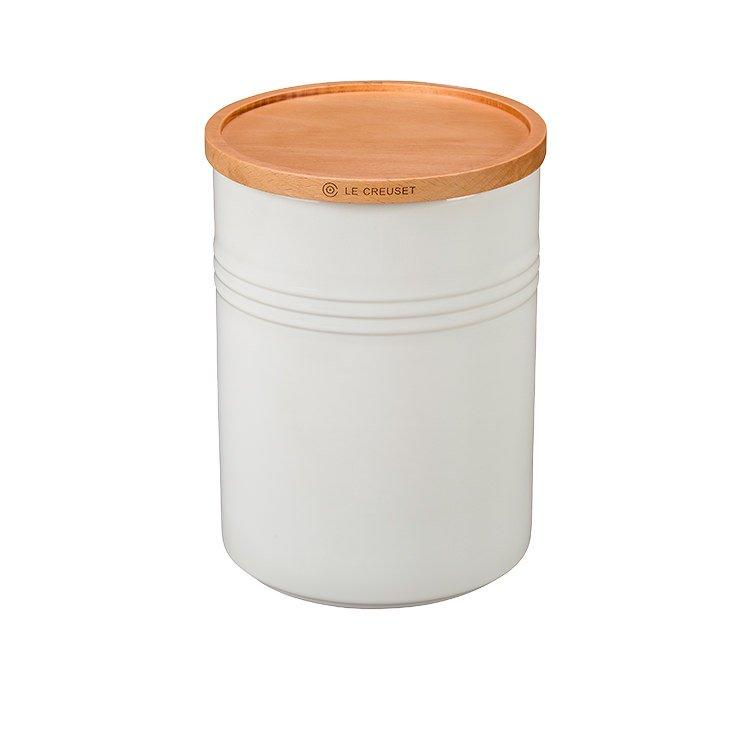 Le Creuset Stoneware Storage Canister Medium Cotton