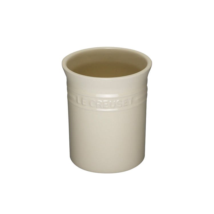 Le Creuset Stoneware Utensil Jar Small Creme