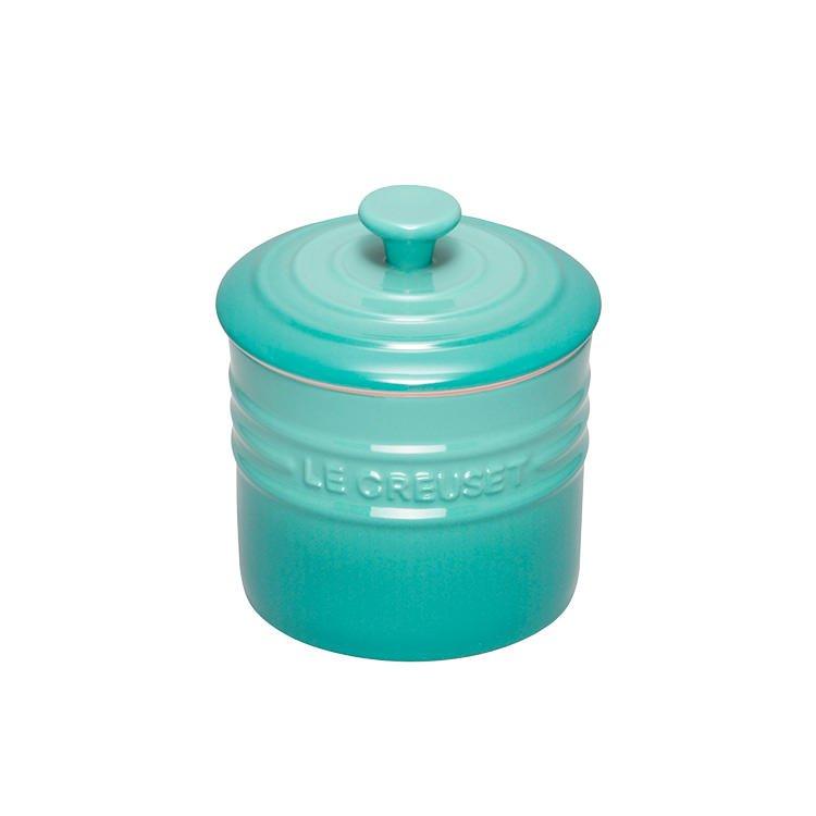Le Creuset Stoneware Storage Jar 800ml Cool Mint