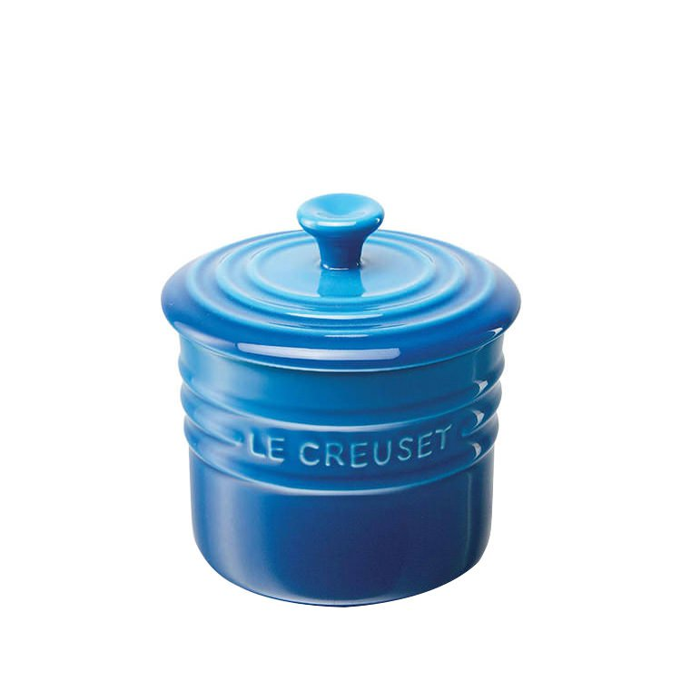 Le Creuset Stoneware Storage Jar 800ml Marseille Blue