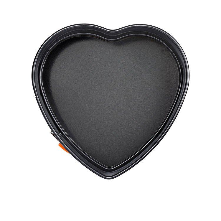 Le Creuset Toughened Non-Stick Heart Shape Spring Form 25x7cm