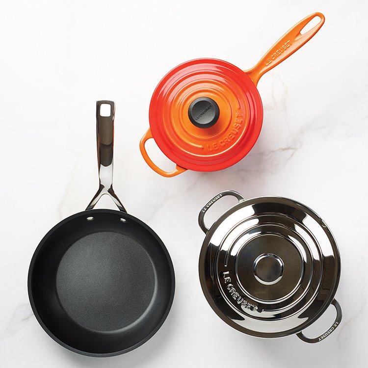 Le Creuset Toughened Non-Stick Deep Frying Pan 24cm