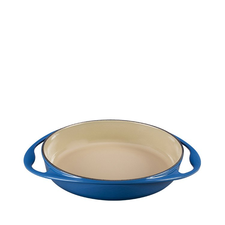 Le Creuset Cast Iron Tarte Tatin Dish 25cm - 1.8L Marseille Blue