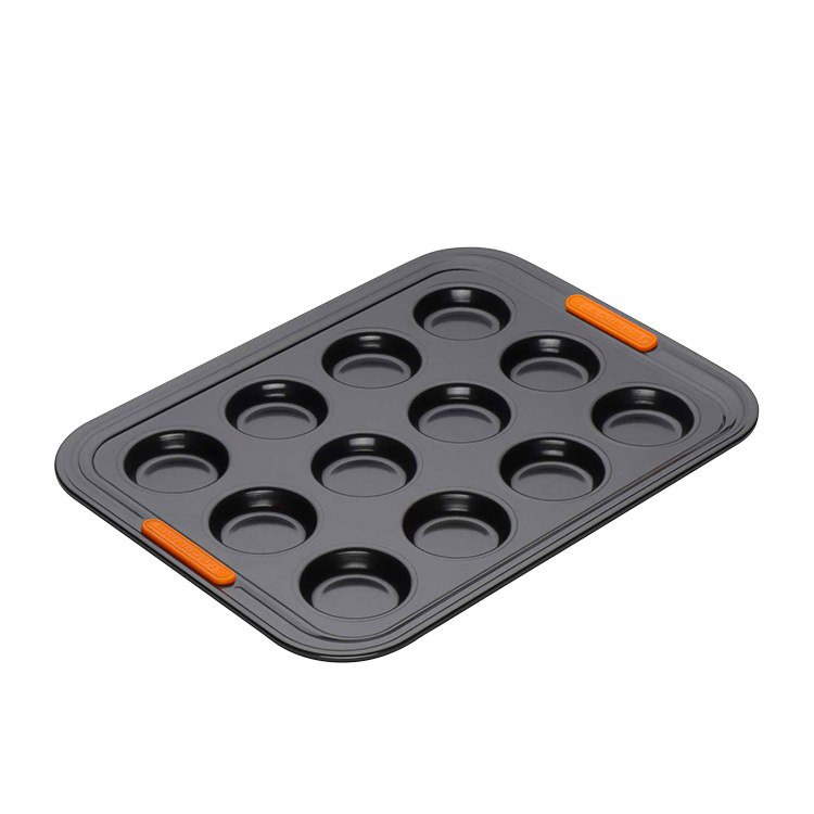 Le Creuset Toughened Non-Stick Bun Tray 12 Cup 34x26x1.6cm
