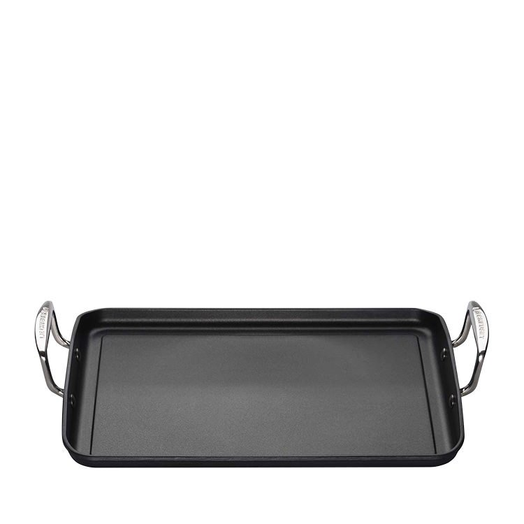 Le Creuset Toughened Non Stick Giant Rectangular Flat Grill 34cm