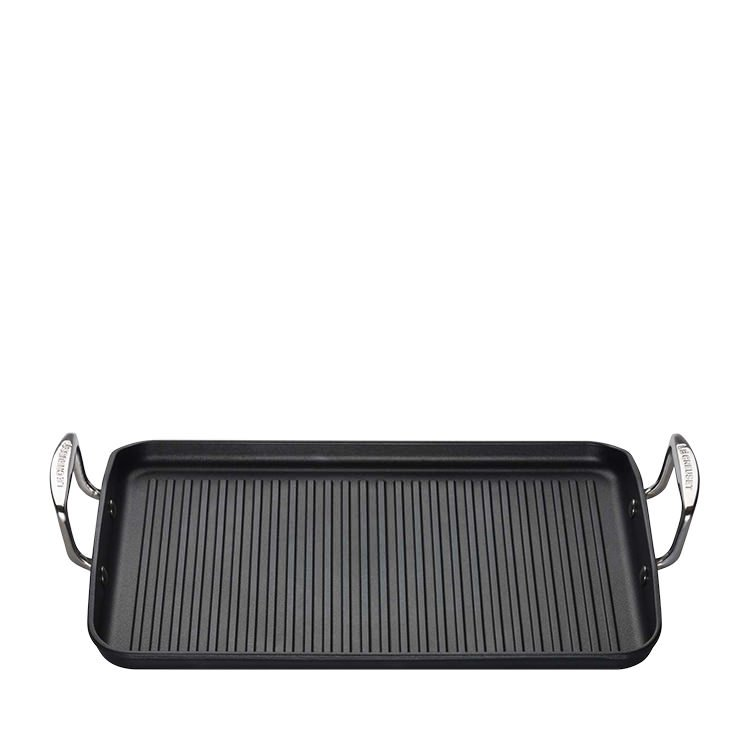 Le Creuset Toughened Non Stick Giant Rectangular Grill 34cm