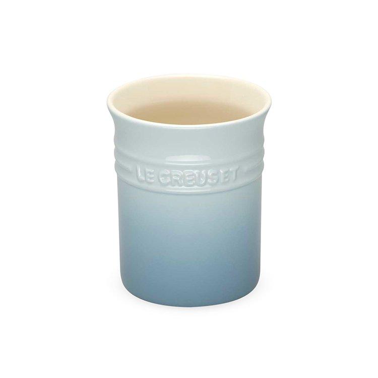 Le Creuset Stoneware Utensil Jar Small Coastal Blue