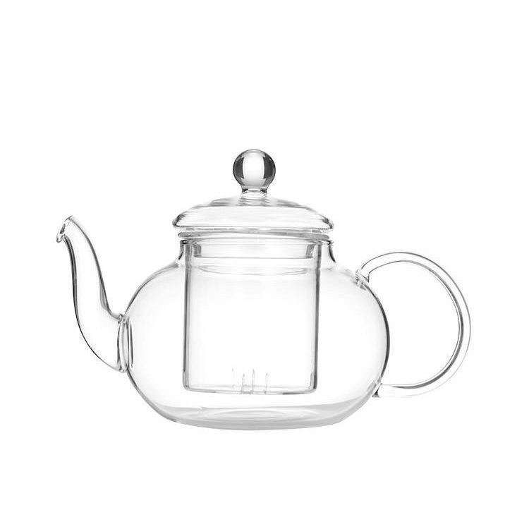 Leaf & Bean Chrysanthemum Glass Teapot 600ml
