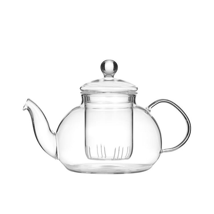 Leaf & Bean Chrysanthemum Glass Teapot 800ml