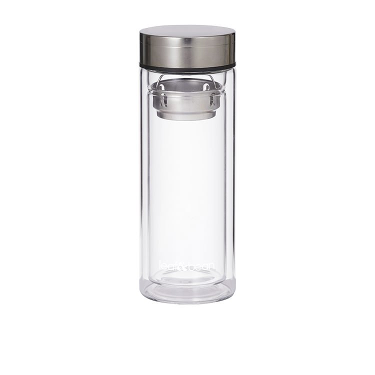 Leaf & Bean Glass Tea Infuser Flask