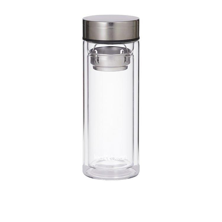 Leaf & Bean Glass Tea Infuser Flask