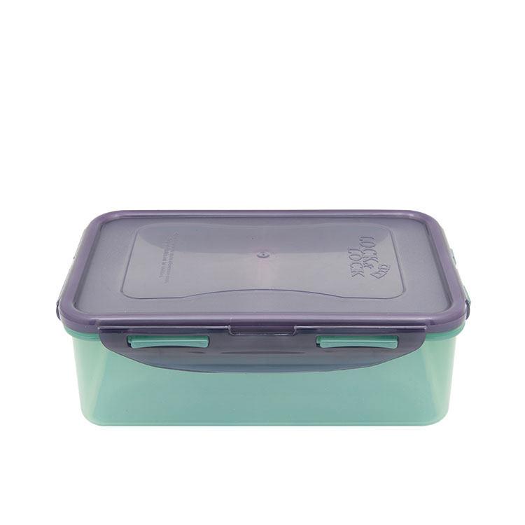 Lock & Lock Eco Rectangular Short Container 1L