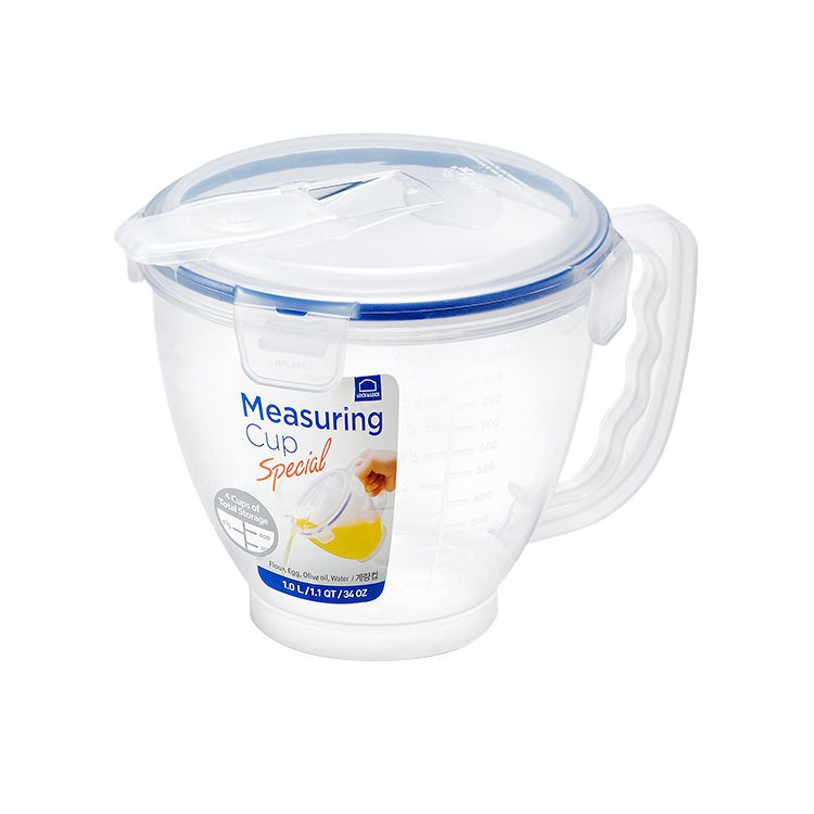 Lock & Lock Special Measuring Cup with Flip Lid 1L