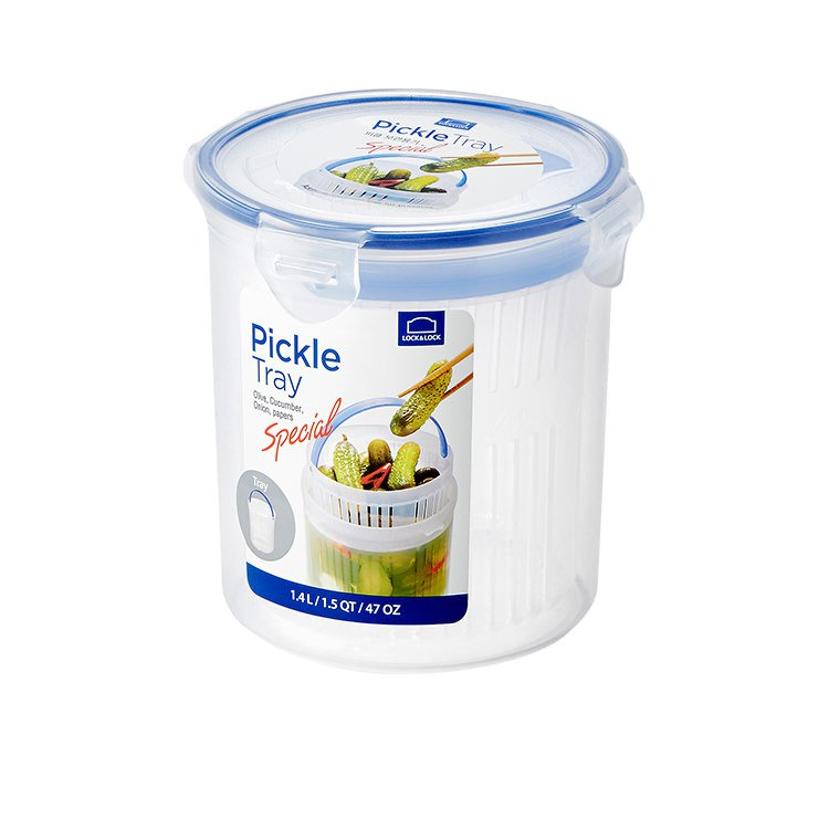 Lock & Lock Special Round Container with Draining Basket 1.4L