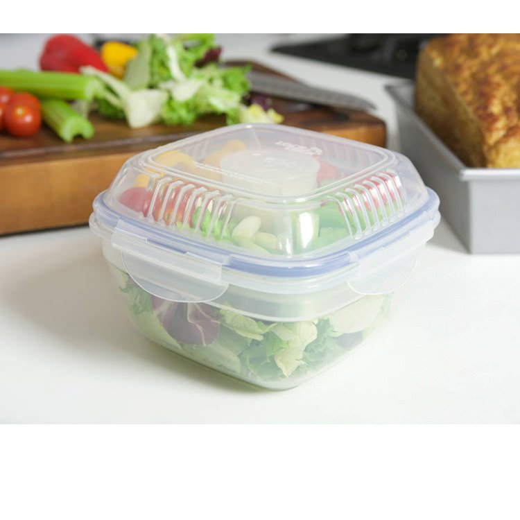 Lock & Lock Special Salad Lunch Box with Dividers 950ml