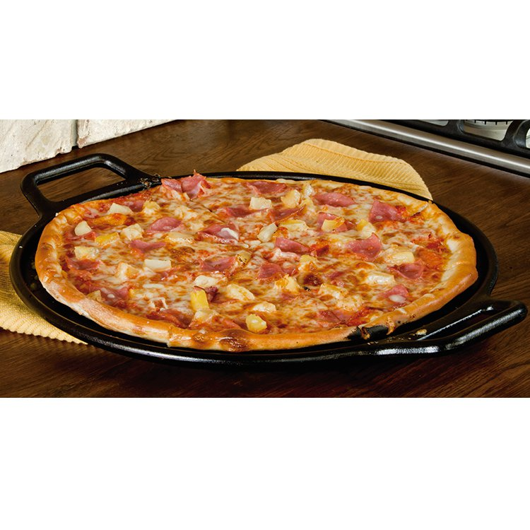 Lodge Cast Iron Pizza Pan 35cm Fast Shipping