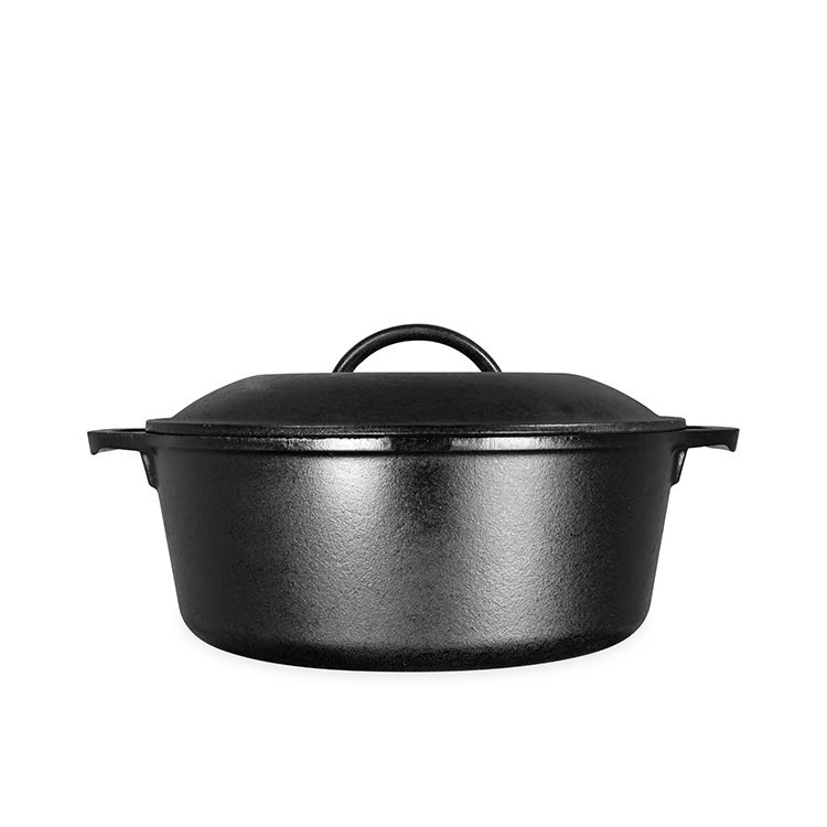 Lodge Logic Cast Iron Dutch Oven 4.7L