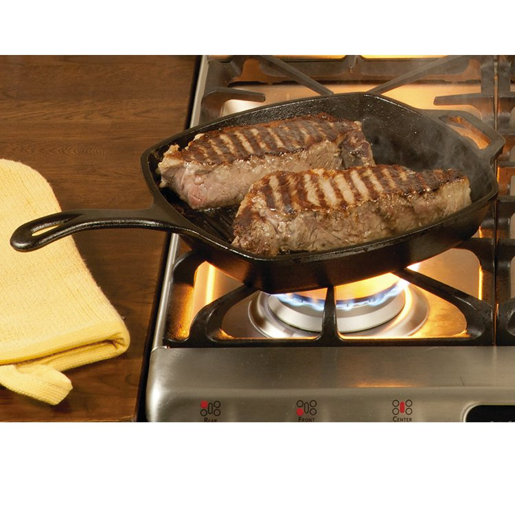 Lodge Logic Cast Iron Grill Pan 26cm image #3
