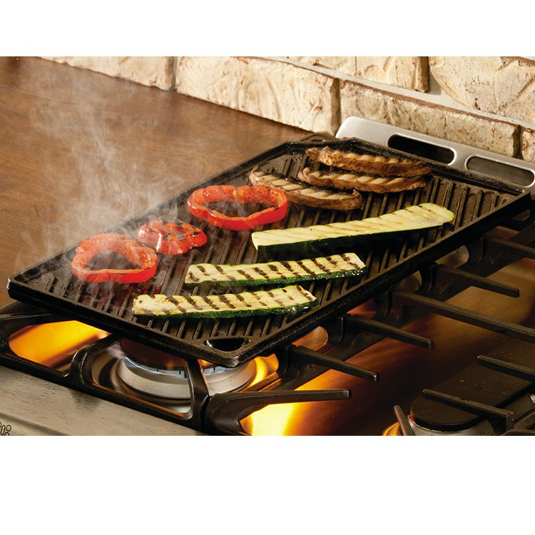 Lodge Logic Cast Iron Reversible Grill 43x24cm