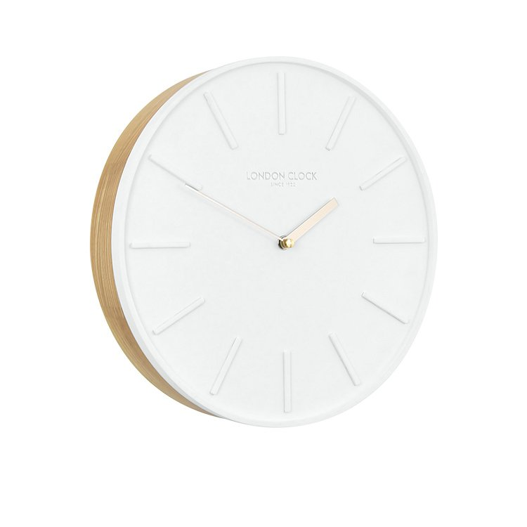 London Clock Company Lagom Silent Wall Clock 30cm