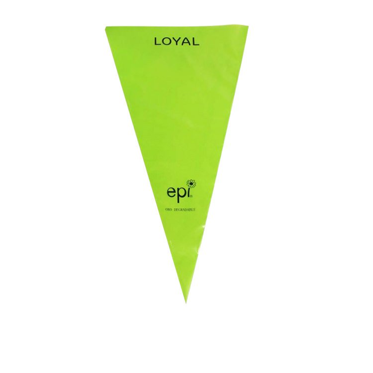 Loyal Biodegradable Disposable Piping bag 46cm 10pk Green