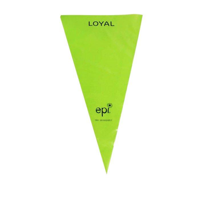 Loyal Biodegradable Disposable Piping bag 46cm 10pk Green