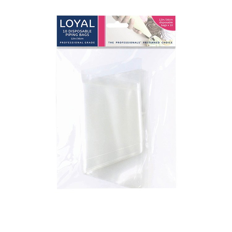 Loyal Disposable Piping Bag 30cm 10pk