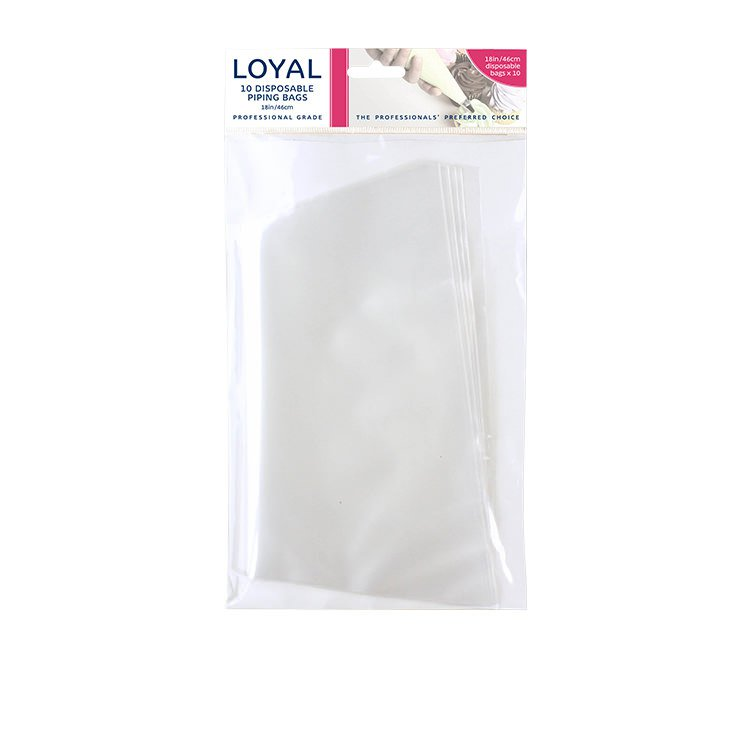 Loyal Disposable Piping Bag 46cm 10pk