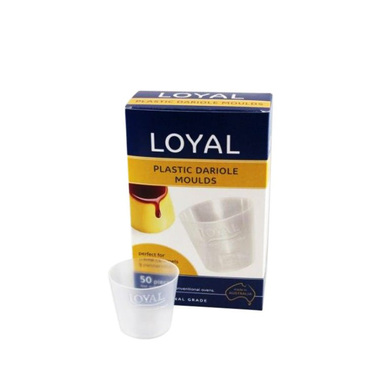 Loyal Plastic Dariole Moulds 50pk
