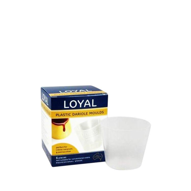 Loyal Plastic Dariole Moulds 6pk