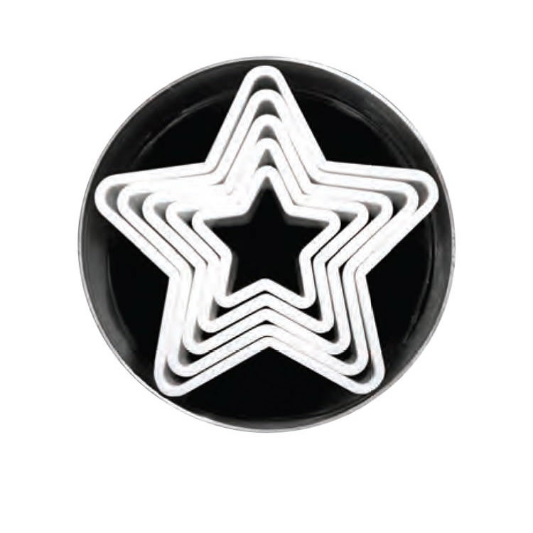 Loyal 6pc Star Cookie Cutter Set