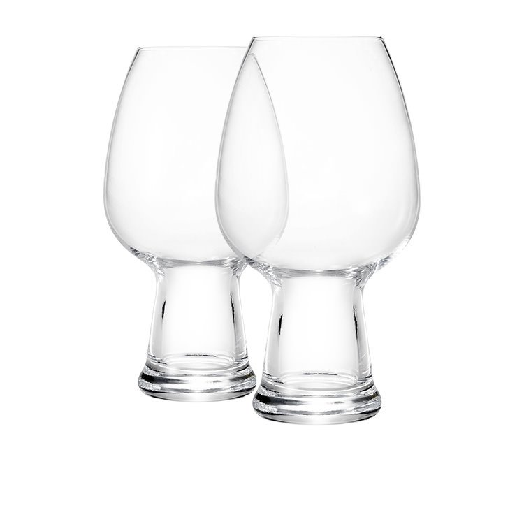 Luigi Bormioli Birrateque Wheat Beer Glass 780ml Set of 2