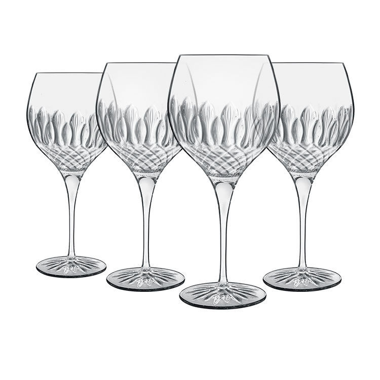 Luigi Bormioli Diamante Gin Glass 650ml Set of 4