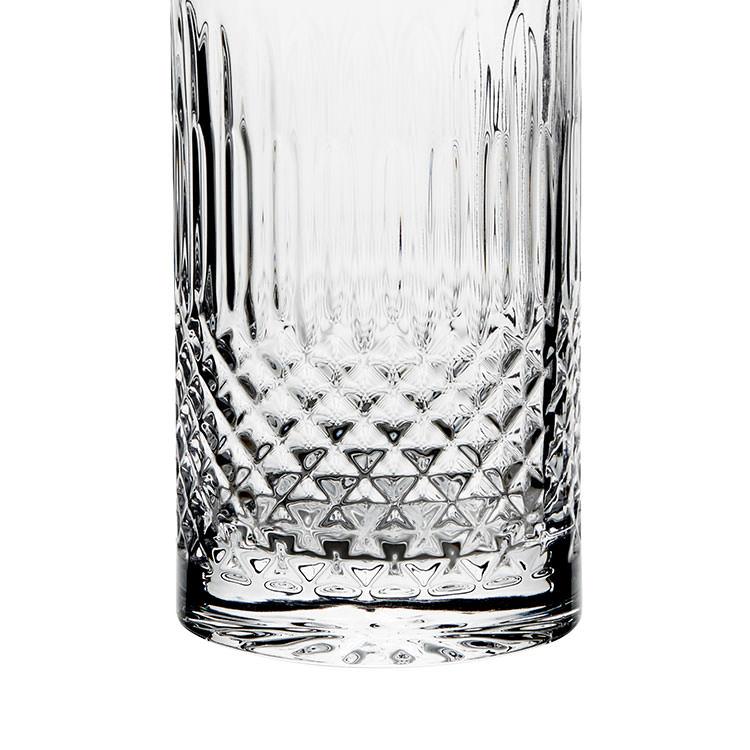 Luigi Bormioli Diamante Highball Glass 480ml Set of 4