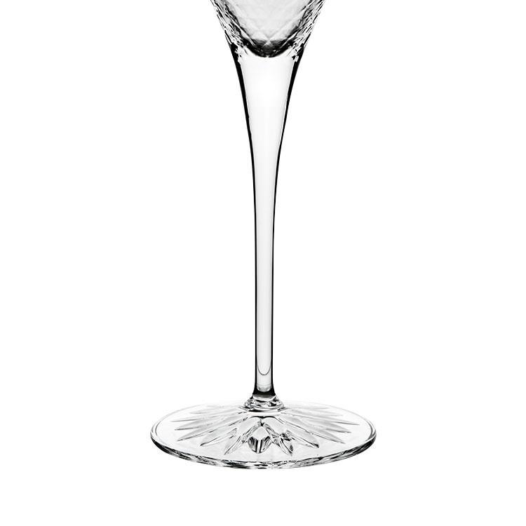 Luigi Bormioli Diamante Prosecco Glass 220ml Set of 4