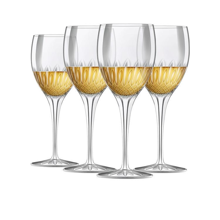 Luigi Bormioli Diamante Riesling Glass 380ml Set of 4 image #6