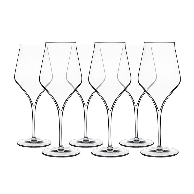 Luigi Bormioli Supremo Bordeaux Wine Glass 550ml Set of 6