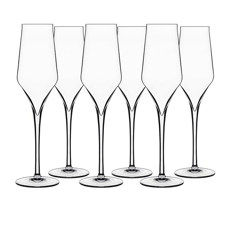 Luigi Bormioli Supremo Champagne Flute 240ml Set of 6
