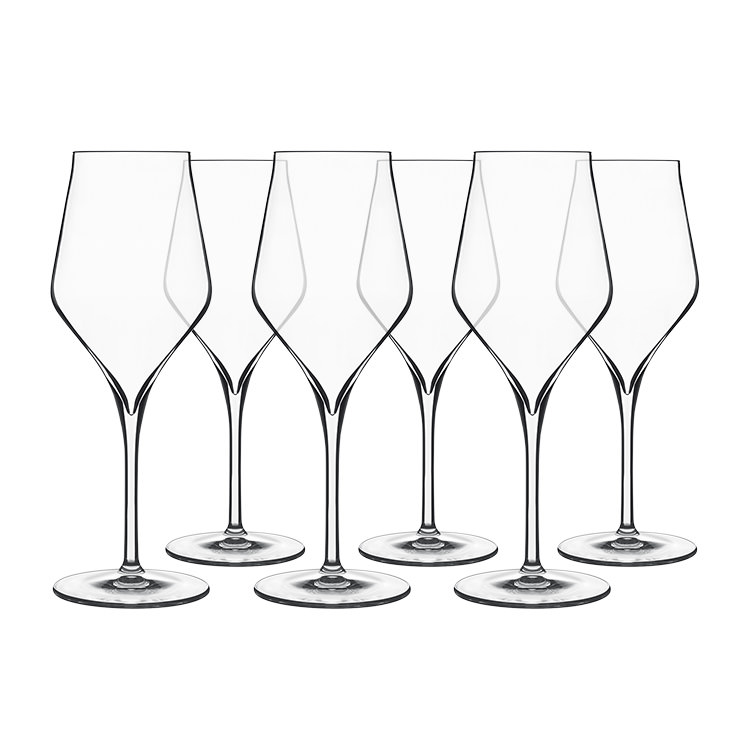 Luigi Bormioli Supremo Chardonnay Wine Glass 350ml Set of 6