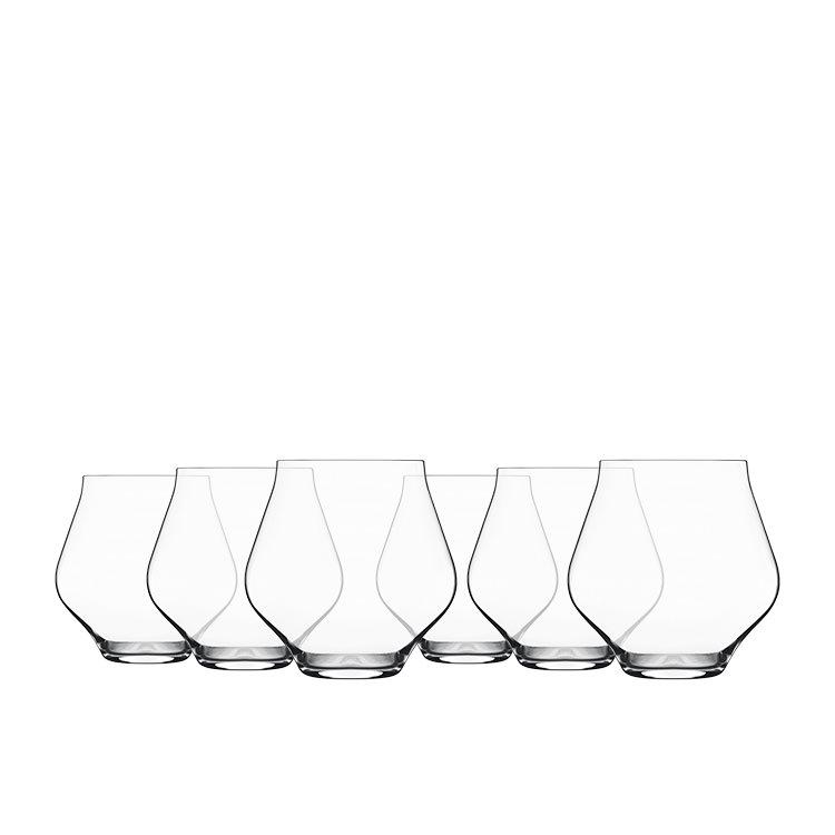 Luigi Bormioli Supremo Stemless Wine Glass 450ml Set of 6