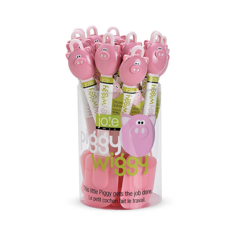 MSC Joie Silicone Spatula Piggy Wiggy