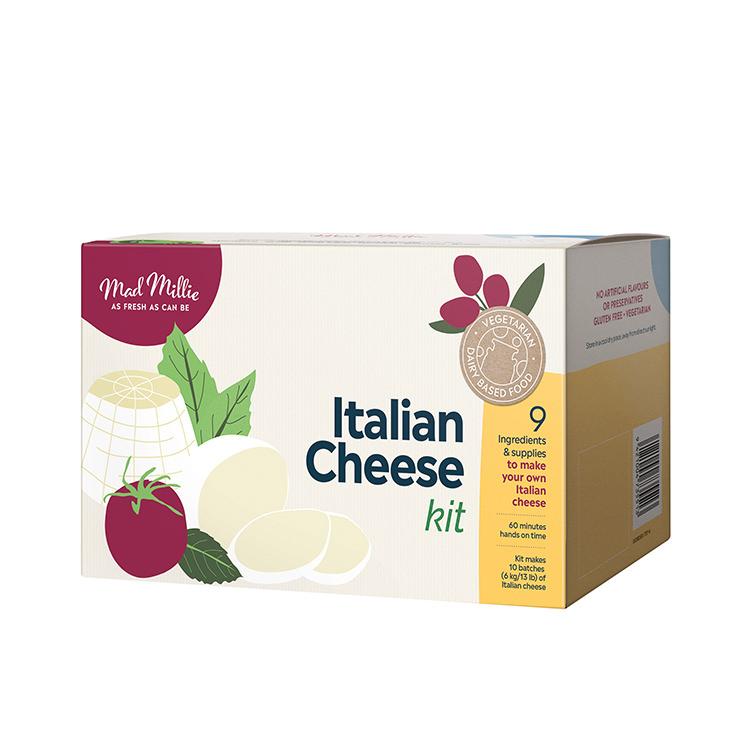 Mad Millie Italian Cheese Kit