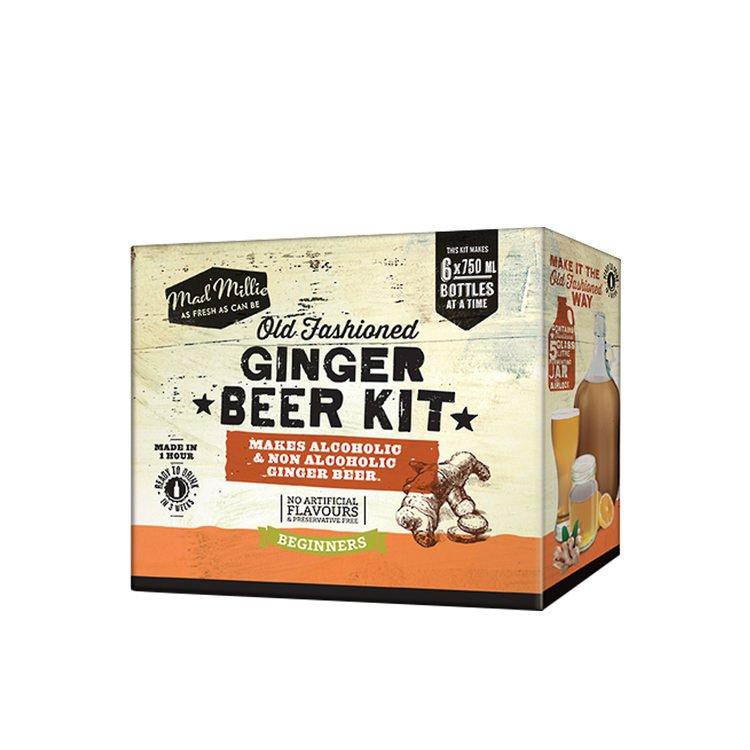 Mad Millie Old Fashioned Ginger Beer Kit