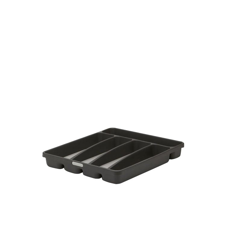 Madesmart Cutlery Tray 5 Compartment Granite
