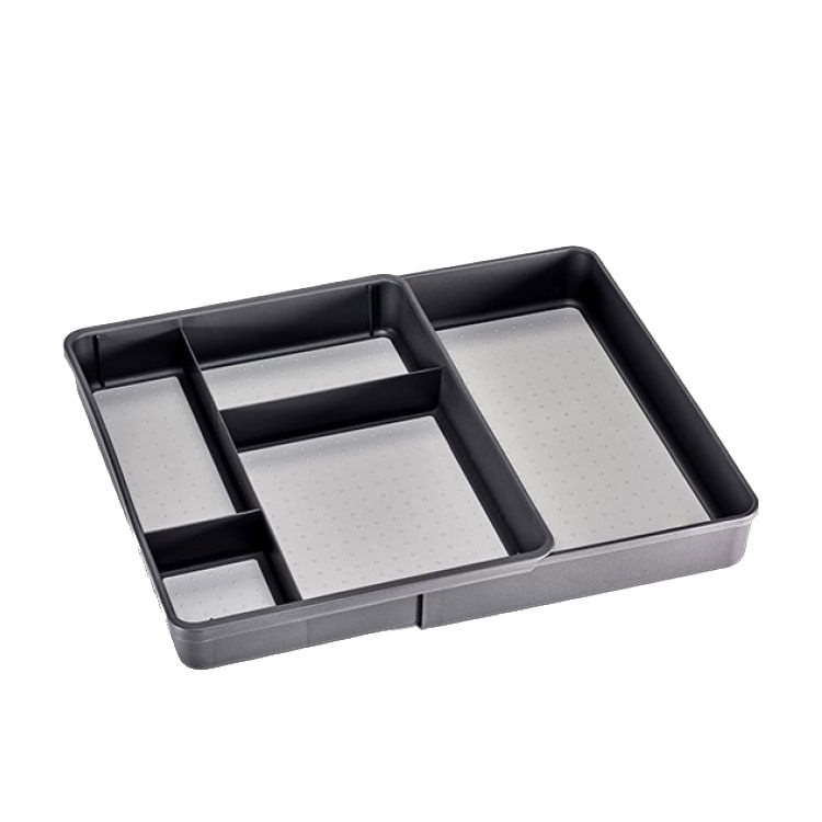 Madesmart Expandable Utility Tray Graphite