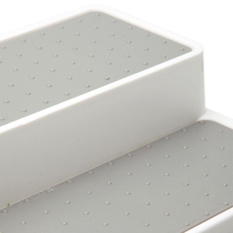 Madesmart Shelf Organiser White